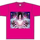 Tシャツ ピンク系/サイズ XL(送料込)