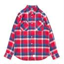 APPLEBUM Blue Red Check Nel Shirt