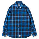 Studded Blue Check Shirt