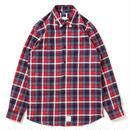 Studded Navy Check Shirt