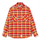 "APPLEBUM ""Orange Check Nel Shirt"""
