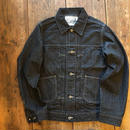 Dapper's(ダッパーズ)/Pleated Front Classic Work Jacket/BLACK-GRAY