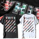 オフホワイト 送料無料 人気新品 男女兼用 Tシャツ 半袖 \EWDT011