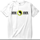 S/S TEE 「T&T」-WHITE