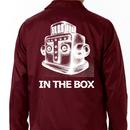 コーチジャケット 「IN THE BOX」 - MAROON