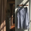 les prairies de paris /stripe skirt /  used clothing