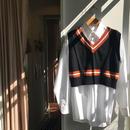 ALLEGE / frill knit vest (Femme)