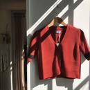 ALLEGE / Rib S/S cardigan (Femme)