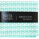 BRITA SWEDEN(ブリタ スウェーデン) カットクロス(50cm X 50cm) 《Stina くま ミント》