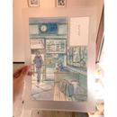クリアファイル(A4サイズ) ~「おかえり色彩」 今日マチ子『センネン画報 +10 years』発売記念原画展オリジナルグッズ~