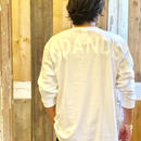 WIND AND SEA  L/S TEE   White/White