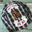 LOT, STOCK AND BARREL VINTAGE FLANNEL SHIRTS WITH CHAINSTITCHING