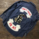 LOT, STOCK AND BARREL VINTAGE DENIM SHIRTS WITH CHAINSTITCHING
