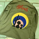"LOT, STOCK AND BARREL VINTAGE MILITARY SHIRTS WITH ""MARFA""  CHAINSTITCHING"