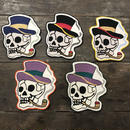 "LOT, STOCK AND BARREL ""SKULL"" PATCH"
