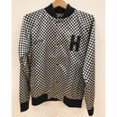 HOTEL 1171 CHECKERED BOMBER JACKET