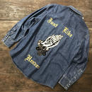 "LOT, STOCK AND BARREL VINTAGE DENIM SHIRTS WITH CHAINSTITCHING  ""JUST LIKE HEAVEN"""