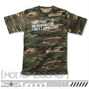 T-shirts [Hot for teacher] TMT01-HFT-CF [ホットフォーティーチャー:カモフラージュ]