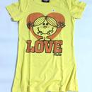 JUNK FOOD Tシャツ yellow