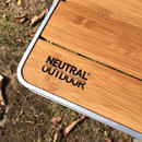 NEUTRAL OUTDOOR Bamboo Table M2