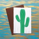 """メッセージカード """"サボテン"""" / Greeting Card """"cactus """""""