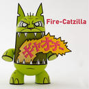 Fire-Catzilla by Joe Ledbetter