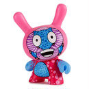 "Codename Unknown 5"" Dunny Kidrobot Exclusive ""PINK"" by Sekure D"