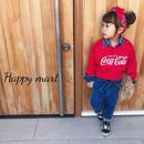 (即納♡)(kids☆)コカ・コーラダメージトレーナー