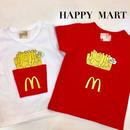 (即納♡)(kids☆)ポテトTシャツ★レッド