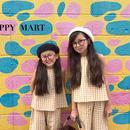(即納♡)(kids☆)ギンガムチェックタンクトップ&パンツ2点SET(イエロー)