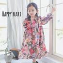 (即納♡)(kids☆)春🌸新作花柄アンティークワンピース
