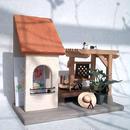 ドールハウス風飾り棚 Pergola