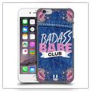 iPhone7*デニム BADASSケース