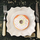 Donut white chocolate Memo