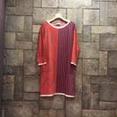 ¥26,000→¥7,999 D-due 140V cotton 100%ドレス
