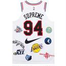18ss supreme  NBA NIKE jersey