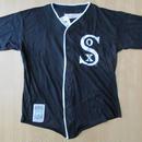 90's USA製 Chicago White Sox college concepts inc製 カットソー素材 ユニフォーム XL黒 シカゴ ホワイトソックスMLBベースボール【deg】