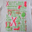 00's USA製 中西俊夫 CLUB KING Tシャツ M 白 Plastics プラスチックス MELON メロン TYCOON TOSH MAJOR FORCE SKYLAB【deg】