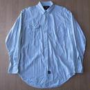 RRL ストライプ柄・長袖・ワークシャツ サイズ・M 正規品 R8 -254