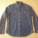 RRL BUFFALO WESTERN JKT・デニム素材・ウエスタンシャツ サイズ・XL 正規品 MADE IN USA -641