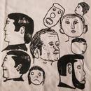 ドナルド バチェラー FOTOFOLIO Crowd Painting ♯9 Tシャツ L ホワイト Donald Baechler 画家 彫刻家 アート ART 芸術 現代美術【deg】