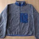 1999年 USA製 パタゴニア レトロX フリース ジャケット L グレー系 PATAGONIA Retro Cardigan レトロカーディガン Classic クラシック 【deg】