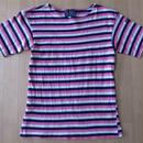 Le minor ルミノール ボーダー 半袖 バスクシャツ プレッピー フランス サイズ (2)【deg】