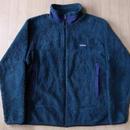 1997年 USA製 パタゴニア レトロX ハンター フリース ジャケット Lグリーン系PATAGONIAレトロカーディガンRetro Cardiganキャンプ 【deg】