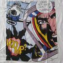 90's USA製 Roy Lichtenstein GUGGENHEIM MUSEUM Okay Hot-Shot ! 1963 Tシャツ XL 白 芸術 リキテンスタイン【deg】