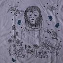 Kiki Smith Wolf Girl Tシャツ XL キキ スミス 彫刻ART芸術 美術 コンテンポラリーアート 現代美術【deg】