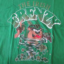 90's USA製 タズマニアンデビルTシャツL TAZ Looney Tunes ARTEX IRISH FRENZY 【deg】