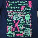 00's USA製 中西俊夫 CLUB KING Tシャツ M ネイビー Plastics プラスチックス MELON メロンTYCOON TOSH MAJOR FORCE【deg】