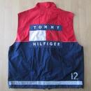 90's TOMMY HILFIGER Team Lotus コラボ バック ゼッケン ベスト