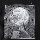 M.C. Escher Tシャツ S 黒 Maurits Cornelis マウリッツ コルネリス エッシャー だまし絵 トリックアート Waterfall ART 芸術【deg】